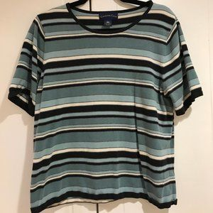 Charter Club Women's Striped Shirt